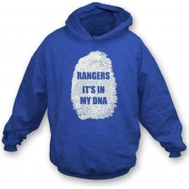 Rangers - It's In My DNA Kids Hooded Sweatshirt