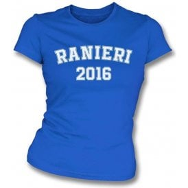 Ranieri 2016 (Leicester City) Womens Slim Fit T-Shirt