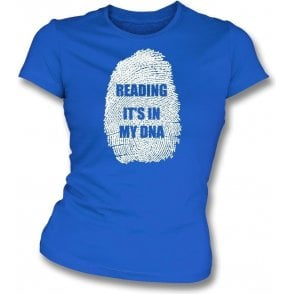 Reading - It's In My DNA Womens Slim Fit T-Shirt