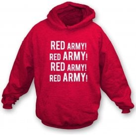 Red Army! (Crawley Town) Kids Hooded Sweatshirt
