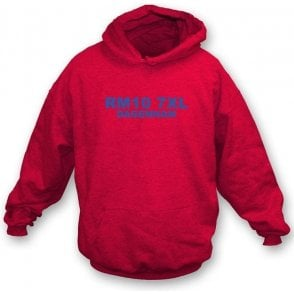 RM10 7XL Dagenham Hooded Sweatshirt (Dagenham & Redbridge)