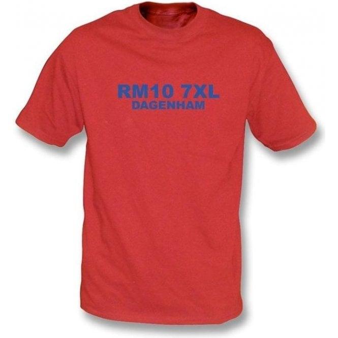 RM10 7XL Dagenham T-shirt (Dagenham & Redbridge)