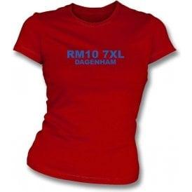 RM10 7XL Dagenham Women's Slimfit T-shirt (Dagenham & Redbridge)