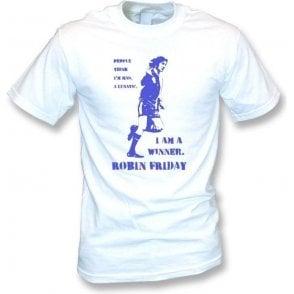Robin Friday - I am a winner (Banksy Style) Vintage Wash T-Shirt