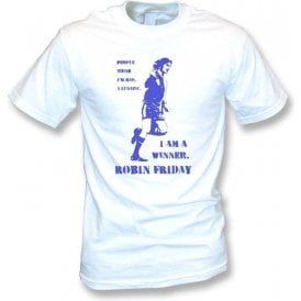 Robin Friday - I am a winner (Banksy Style) Vintage Wash T-Shirt