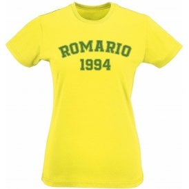 Romario 1994 (Brazil) Womens Slim Fit T-Shirt