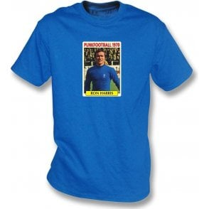 Ron Harris 1970 (Chelsea) Royal Blue T-Shirt