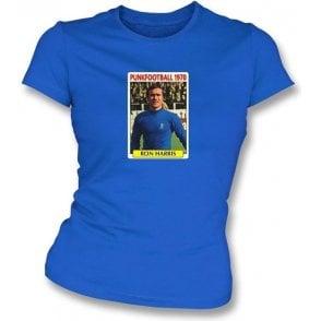 Ron Harris 1970 (Chelsea) Royal Blue Women's Slimfit T-Shirt
