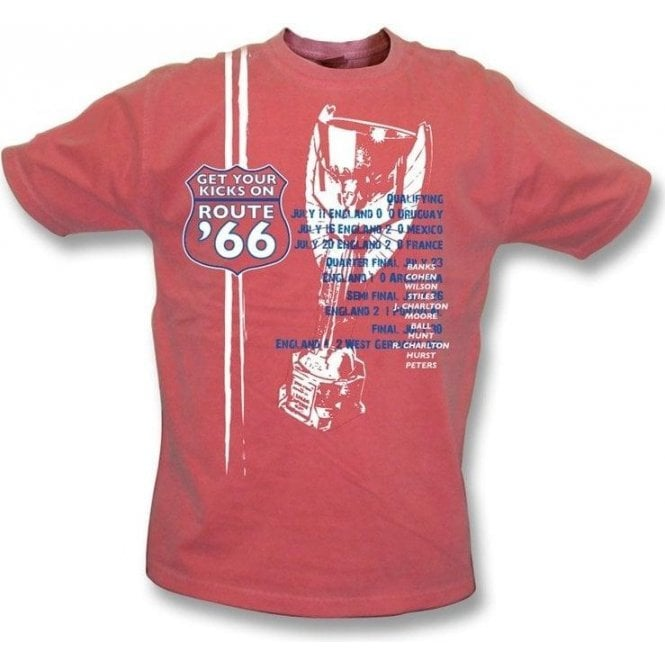Route 66  vintage wash t-shirt