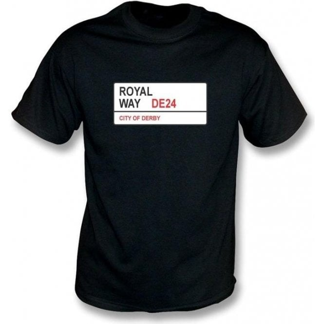 Royal Way DE24 T-Shirt (Derby County)