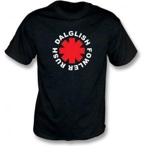 Rush, Fowler, Dalglish Chili Peppers style t-shirt