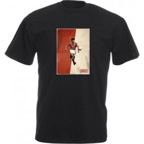 Ryan Giggs (Manchester United) Vintage Poster T-Shirt