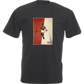 Ryan Giggs (Manchester United) Vintage Poster Vintage Wash T-Shirt