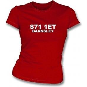 S71 1ET Barnsley Women's Slimfit T-Shirt (Barnsley)