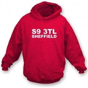 S9 3TL Sheffield Hooded Sweatshirt (Rotherham United)