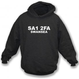 SA1 2FA Swansea Hooded Sweatshirt (Swansea City)