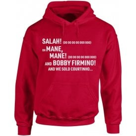 Salah, Salah (Liverpool) Chant Hooded Sweatshirt