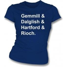 Scotland World Cup 1978 Womens Slim Fit T-Shirt