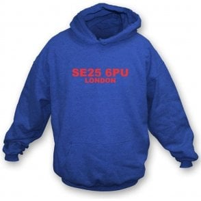 SE25 6PU London Hooded Sweatshirt (Crystal Palace)
