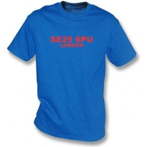 SE25 6PU London T-Shirt (Crystal Palace)