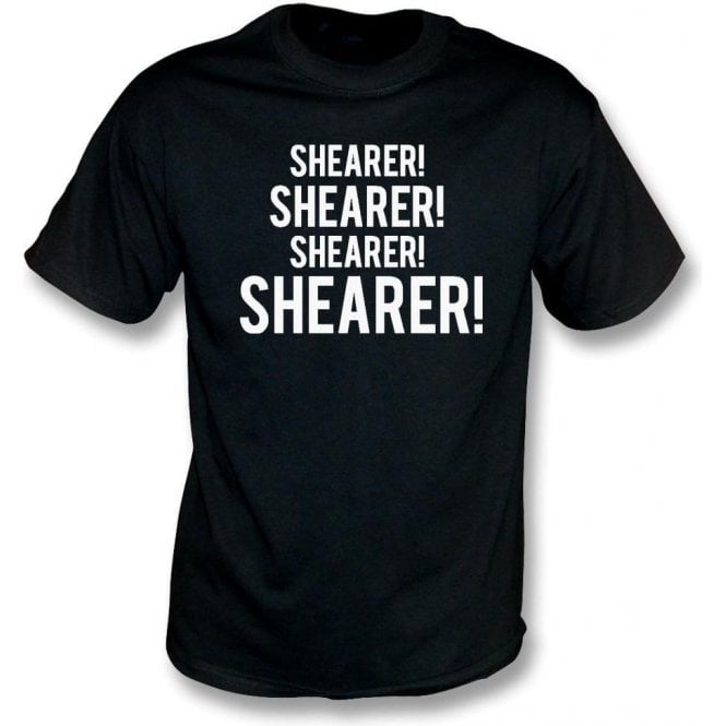 Shearer! Shearer! T-Shirt (Newcastle United)