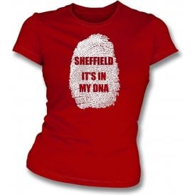 Sheffield - It's In My DNA (Sheffield United) Womens Slim Fit T-Shirt