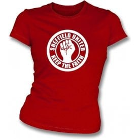Sheffield Utd. Keep the Faith Girl's Slim-Fit