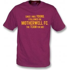 Since I Was Young (Motherwell) Kids T-Shirt