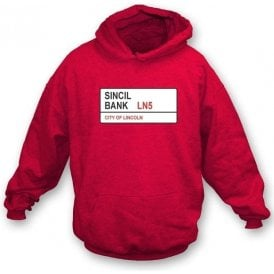 Sincil Bank LN5 Kids Hooded Sweatshirt (Lincoln City)