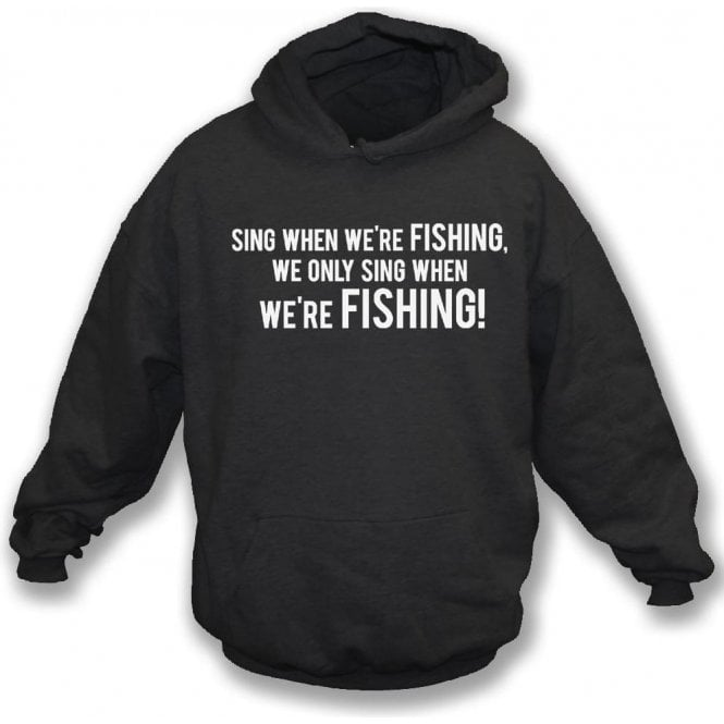 Sing When We're Fishing (Grimsby Town) Kids Hooded Sweatshirt