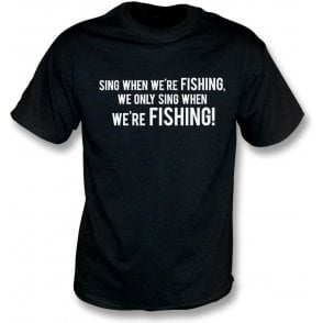 Sing When We're Fishing (Grimsby Town) Kids T-Shirt