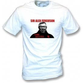 Sir Alex Ferguson The Real Godfather Mens T-shirt