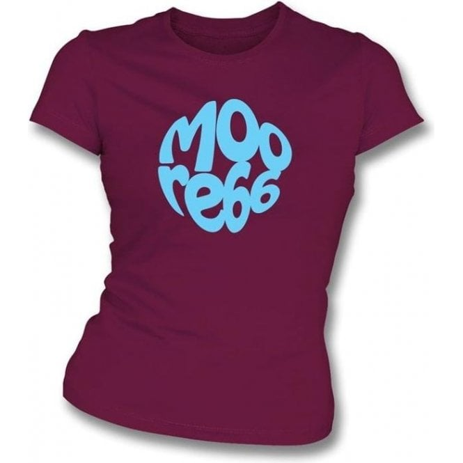 Sir Bobby Moore Logo Women's Slim Fit T-shirt