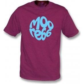 Sir Bobby Moore Pretty Green Logo T-shirt