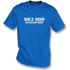 SK3 9DD Stockport T-Shirt (Stockport County)