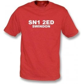 SN1 2ED Swindon T-Shirt (Swindon Town)