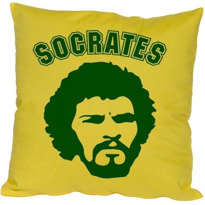 Socrates 70's Face Cushion
