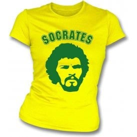 Socrates 70's Face Girl's Slim-Fit T-shirt