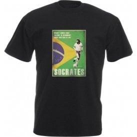 Socrates (Brazil) 80's Vintage Poster T-Shirt