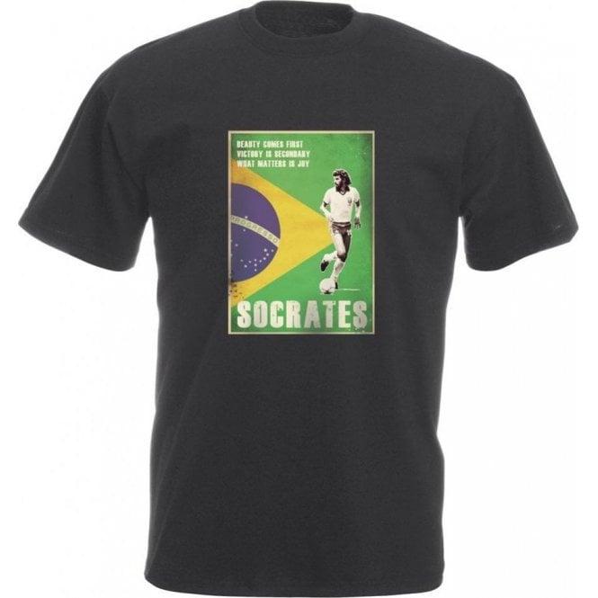 Socrates (Brazil) 80's Vintage Poster Vintage Wash T-Shirt
