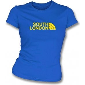 South London (AFC Wimbledon) Womens Slim Fit T-Shirt