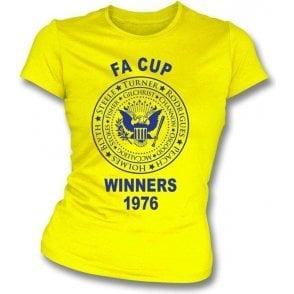 Southampton FA Cup Winners 1976 Girl's Slim-Fit T-shirt