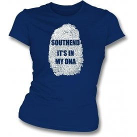 Southend - It's In My DNA Womens Slim Fit T-Shirt