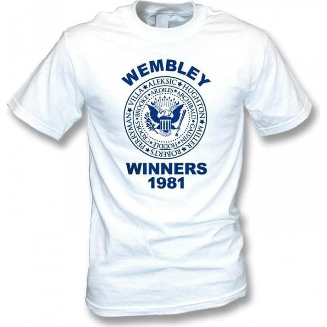Spurs Wembley FA Cup Winners 1981 T-shirt