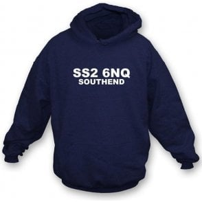 SS2 6NQ Southend Hooded Sweatshirt (Southend)