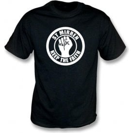 St Mirren Keep the Faith T-shirt