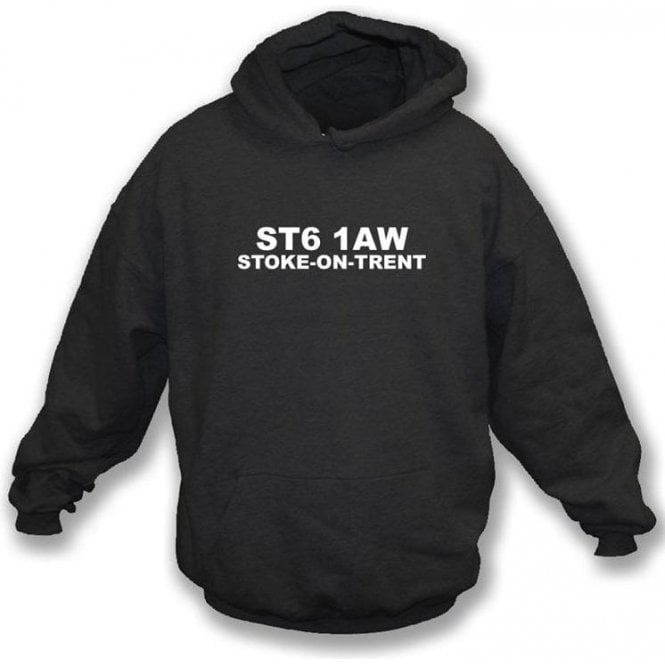 ST6 1AW Stoke-On-Trent Hooded Sweatshirt (Port Vale)