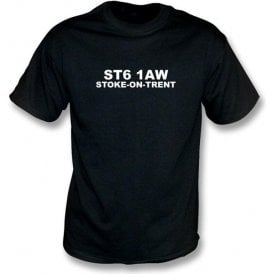 ST6 1AW Stoke-On-Trent T-Shirt (Port Vale)