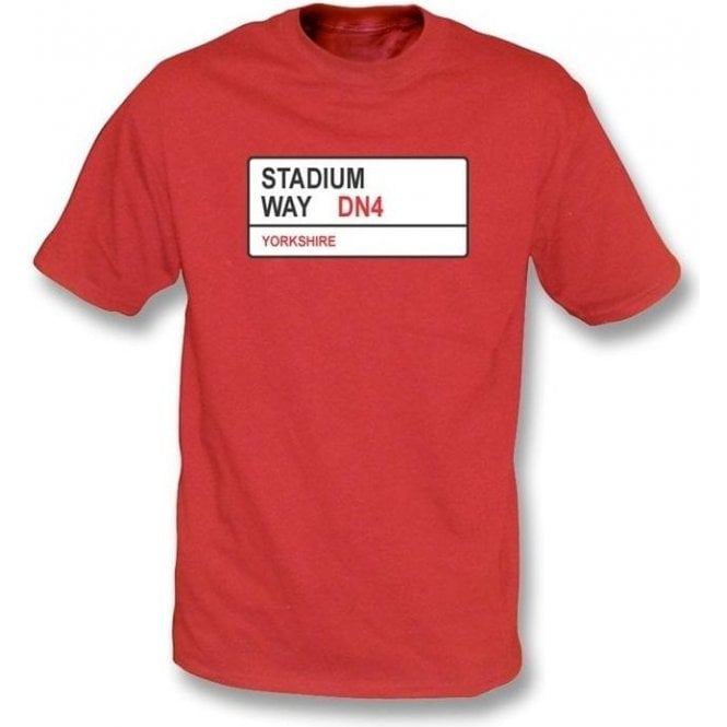 Stadium Way DN4 T-Shirt (Doncaster Rovers)
