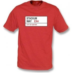 Stadium Way EX4 T-Shirt (Exeter City)